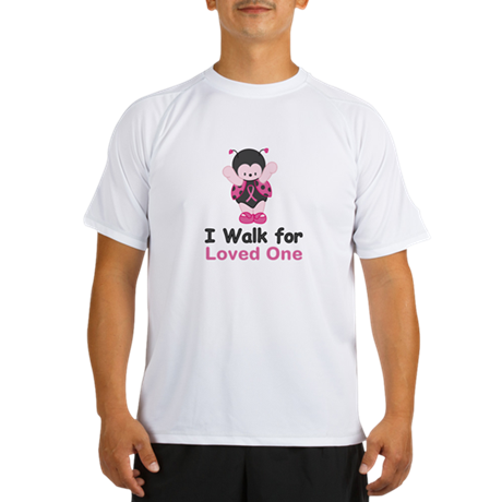 Walk For Ladybug Performance Dry T-Shirt