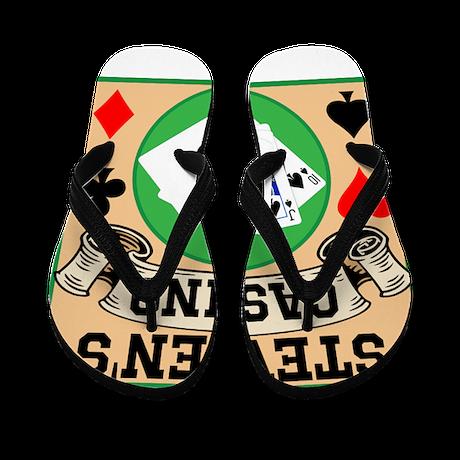 Personalized Casino Flip Flops