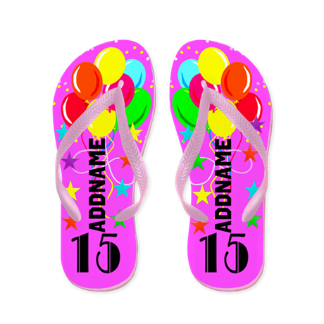 Stylish 15Th Flip Flops