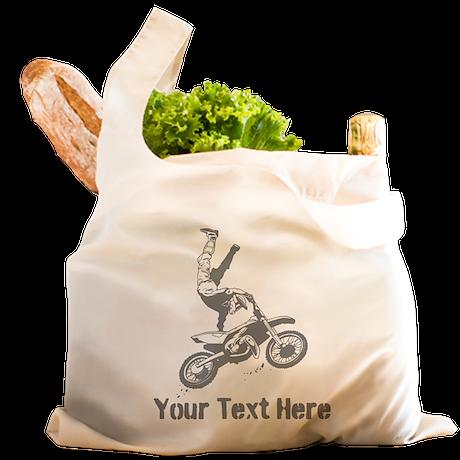 Freestyle Motocross Reusable Shopping Bag