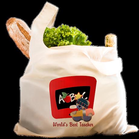 Teacher TeddyBear Reusable Shopping Bag