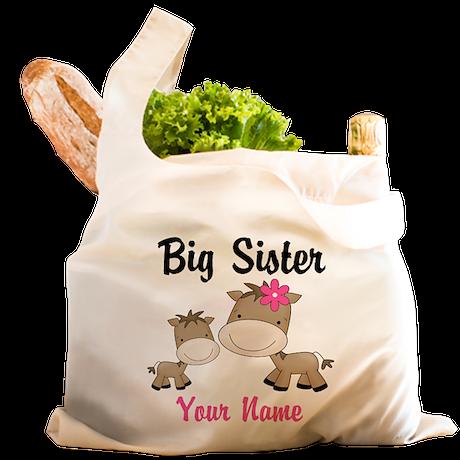 Big Sister Horse Reusable Shopping Bag