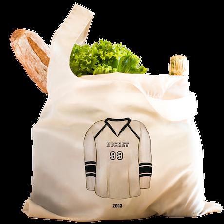 Hockey Jersey Reusable Shopping Bag