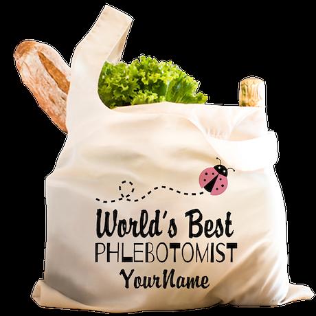 World's Best Phlebotomist Reusable Shopping Bag