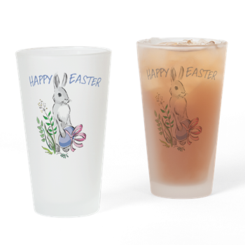 easter bunny beverage glasses