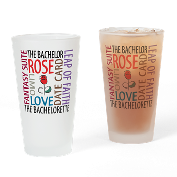 the bachelor drinking glass