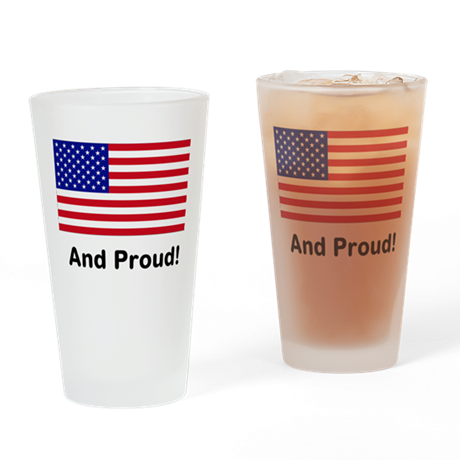 Proud Drinking Glass