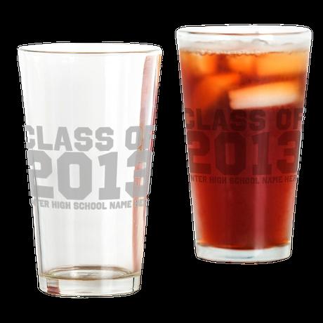 2013 Graduation Drinking Glass