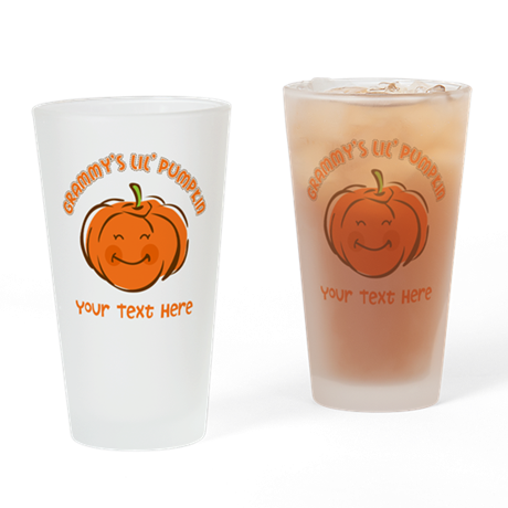 Grammy's Little Pumpkin Personalized Drinking Glas