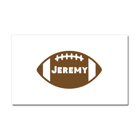 Personalized Football Car Magnet 20 x 12
