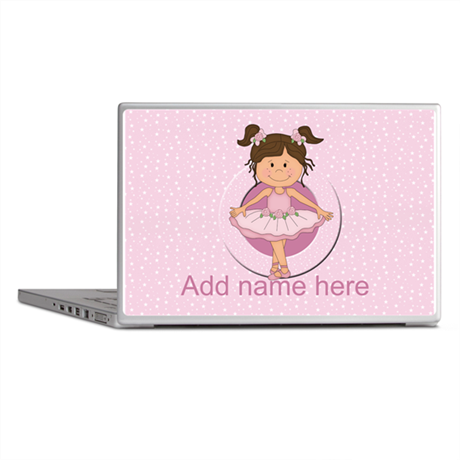 Personalized Ballerina Ballet Laptop Skins