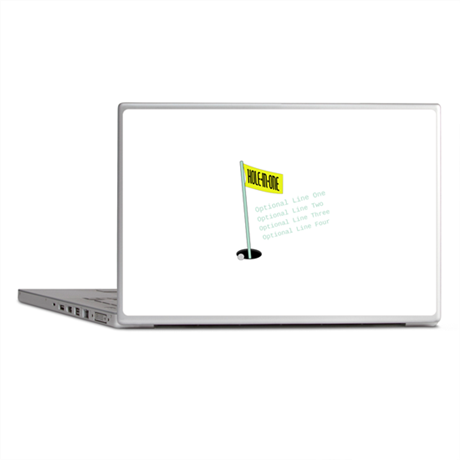 Golf Hole In One Laptop Skins