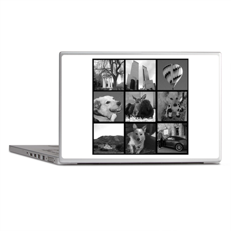 Your Photos Here - Photo Block Laptop Skins