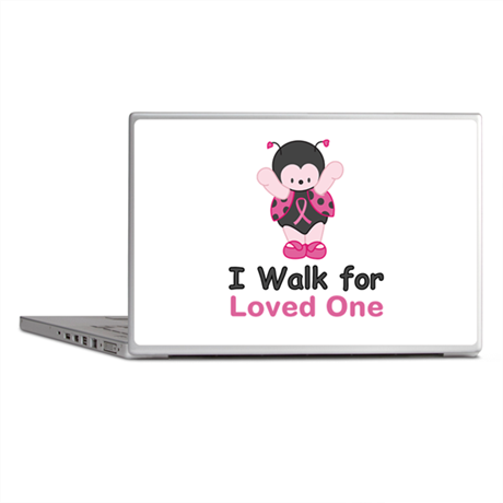 Walk For Ladybug Laptop Skins