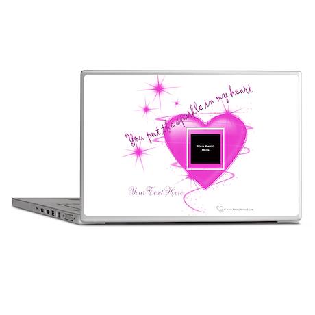 Heart Sparkle Laptop Skins