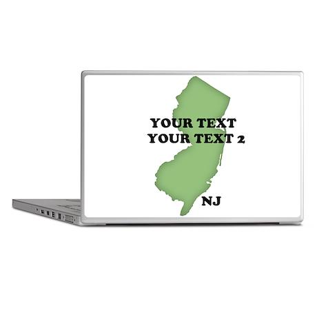 NJ YOUR TEXT Laptop Skins