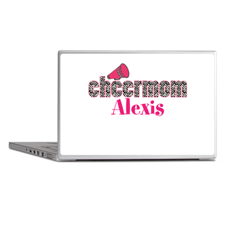 Cheermom personalized Laptop Skins