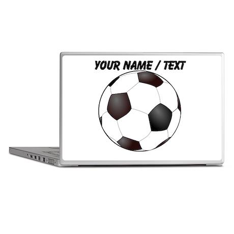 Custom Soccer Ball Laptop Skins