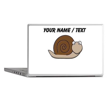Custom Cartoon Snail Laptop Skins