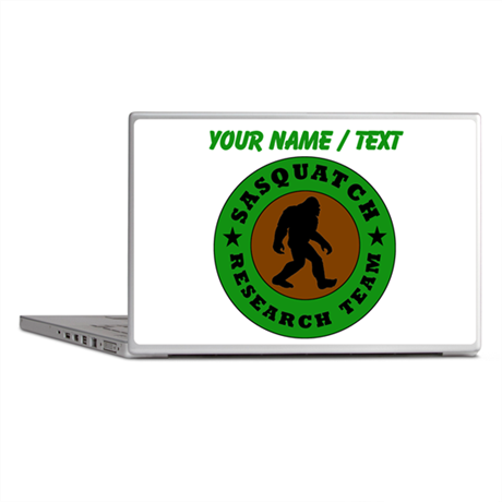 Custom Sasquatch Research Team Laptop Skins