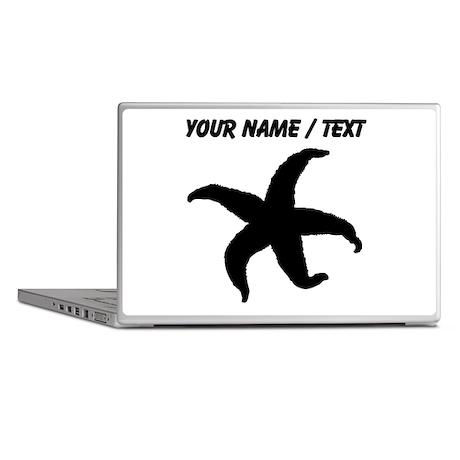 Custom Starfish Silhouette Laptop Skins