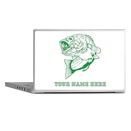 Custom Green Bass Laptop Skins