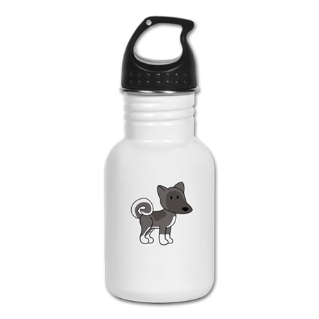 Cute Akita Kid's Water Bottle