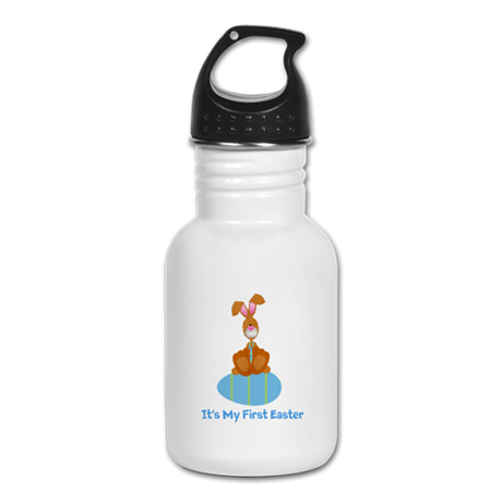 Customizable 1st Easter (blue Kid's Water Bottle