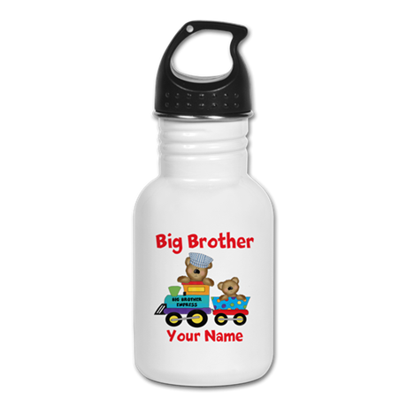 Big Brother Train Kid's Water Bottle