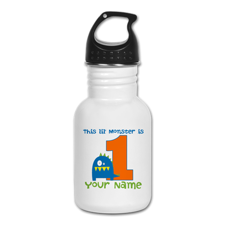First Birthday Monster Kid's Water Bottle