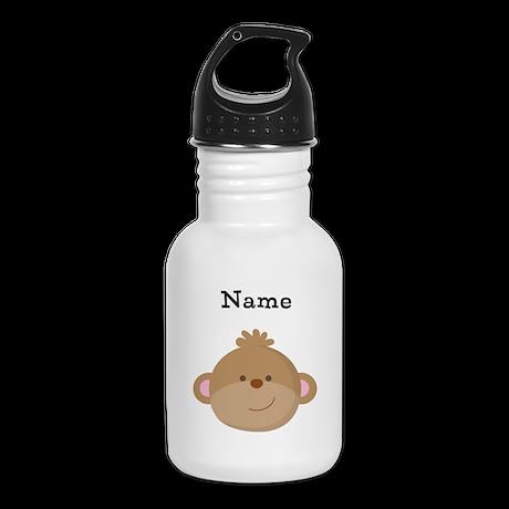 Personalized Monkey Kid's Water Bottle