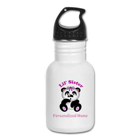 Little Sister Panda Kid's Water Bottle