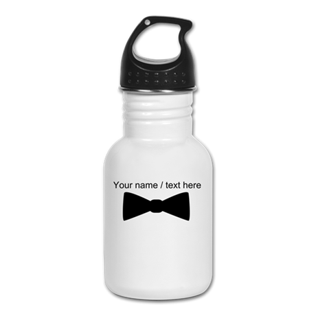 Personalized Bow Tie Kid's Water Bottle