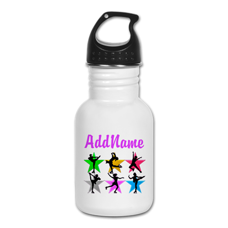AWESOME SKATER Kid's Water Bottle