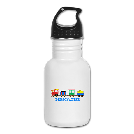 Personalized Kids Choo Choo Train Kid's Water Bott
