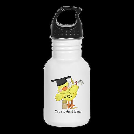 PD Graduation Chick Kid's Water Bottle