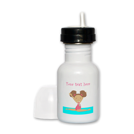 Brown haired gymnast Sippy Cup