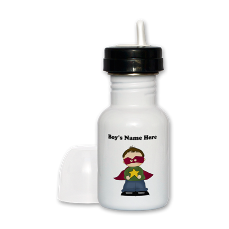 Personalized Super Hero Boy Sippy Cup