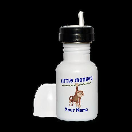 Monkey Boy Kids Personalized Sippy Cup