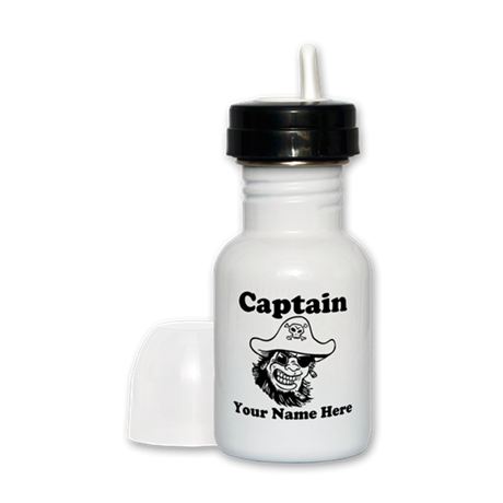 Custom Captain Pirate Sippy Cup