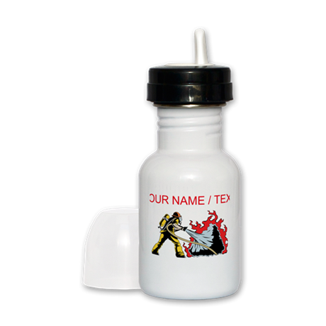Custom Firefighter Sippy Cup