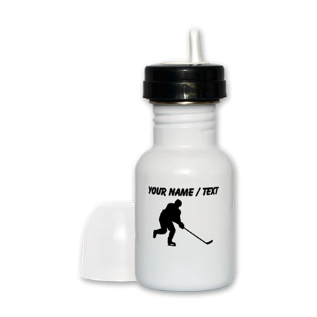 Custom Hockey Player Silhouette Sippy Cup