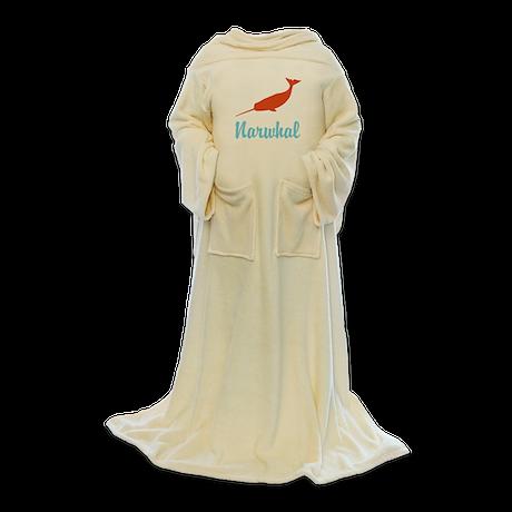 Narwhal Blanket Wrap