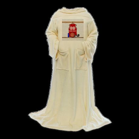 Personalized Basketball Jerse Blanket Wrap