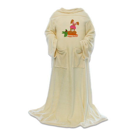 CUSTOMIZABLE: EASTER BUNNY Blanket Wrap
