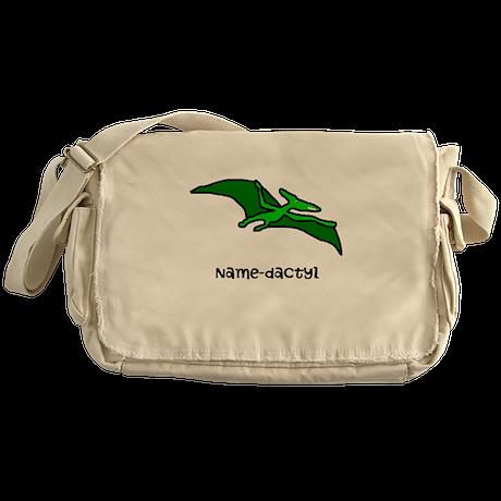 Name your own Pterodactyl! Messenger Bag