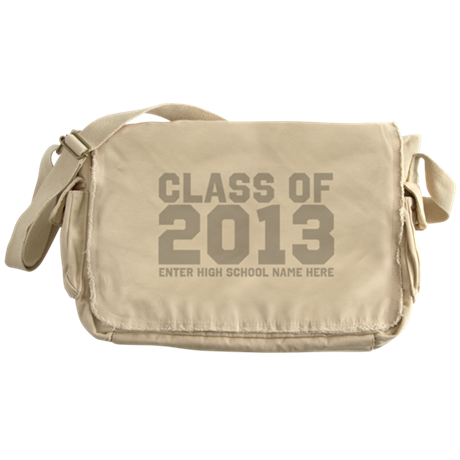 2013 Graduation Messenger Bag