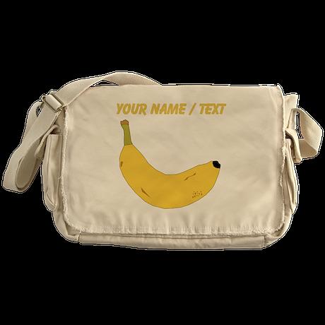Custom Banana Messenger Bag