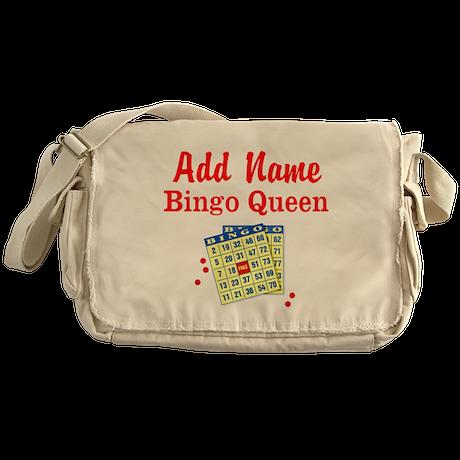 BINGO QUEEN Messenger Bag