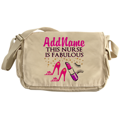FABULOUS NURSE Messenger Bag